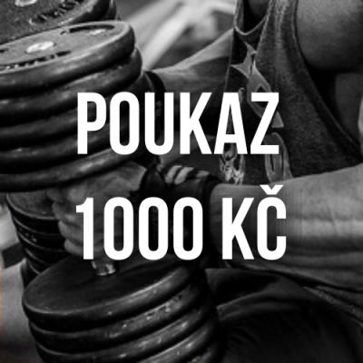 Dárkový kupon 1000 Kč