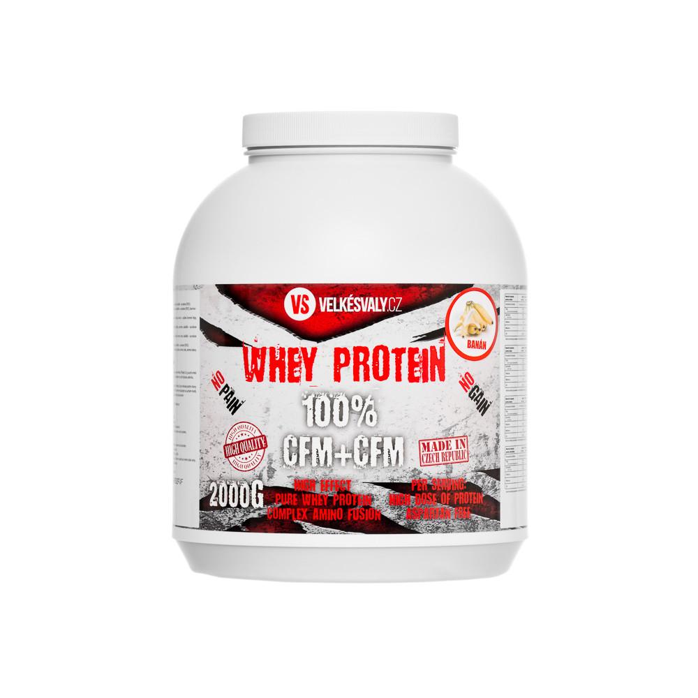 VelkéSvaly.cz - 100% Whey protein 2000g5545