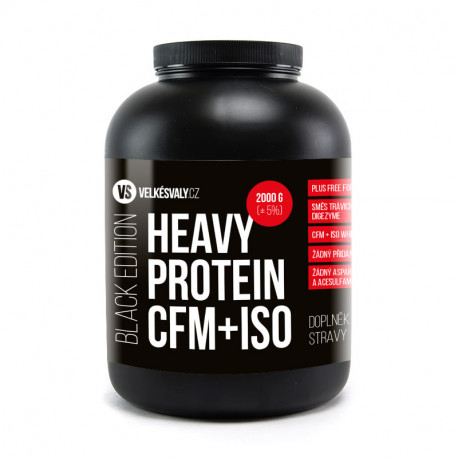 BLACK EDITION - HEAVY PROTEIN CFM+ISO