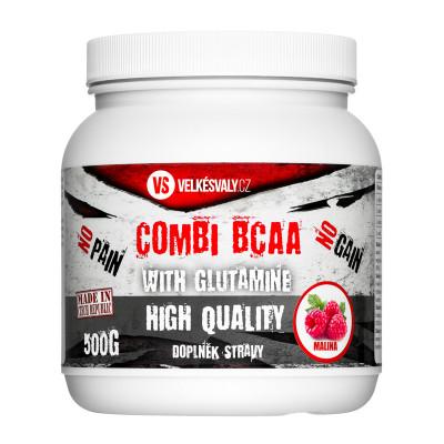 VelkéSvaly.cz – Combi BCAA with Glutamine 500g