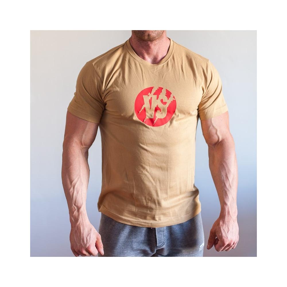Tričko VS CLAW béžové