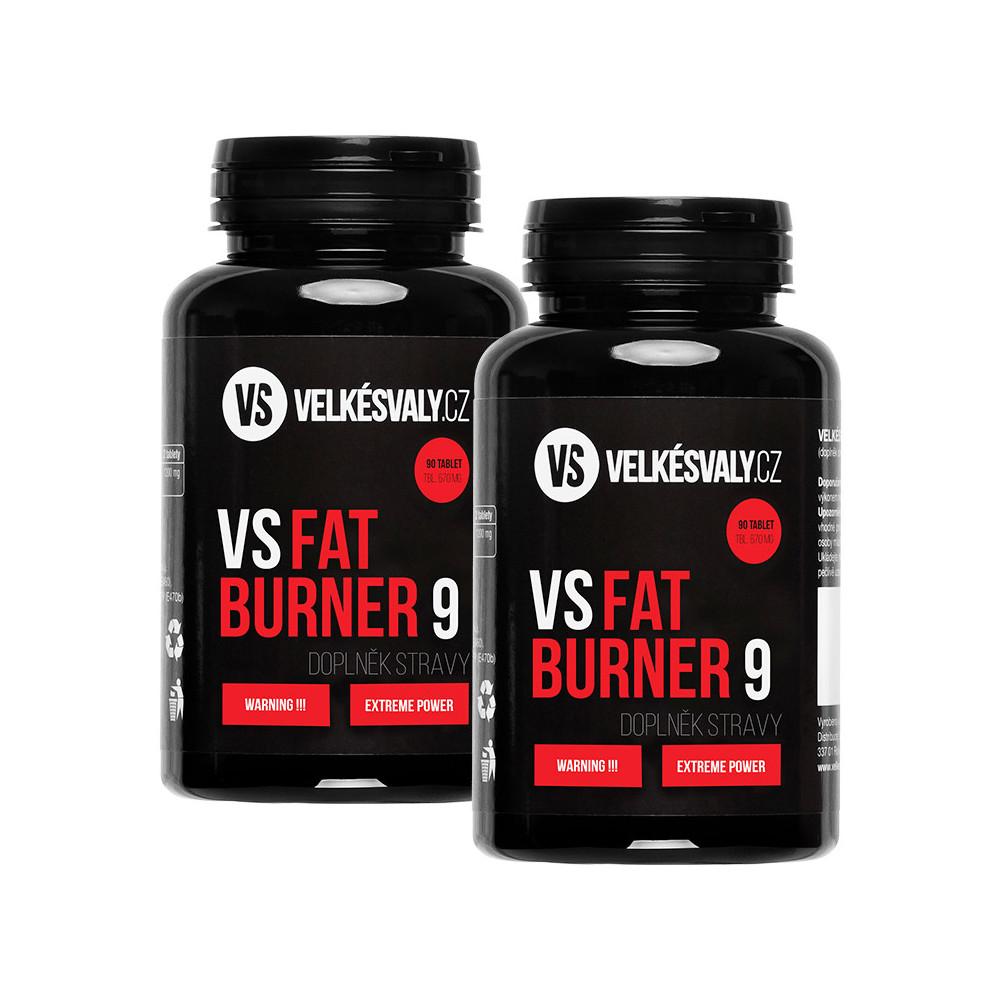 1+1 ZDARMA Spalovač tuku VS Fat Burner 9