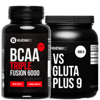 BCAA TRIPLE FUSION + VS GLUTA PLUS