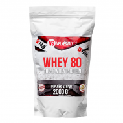 100% Whey protein - WHEY 80 - 2000g