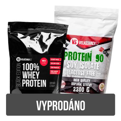 90% Protein 2200g + 100% Whey - 900g