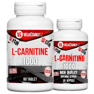 1+1 ZDARMA L-Carnitine - celkem 120 000