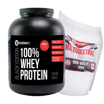 100% Whey protein - CFM 2000g + 1000 g maltodextrin