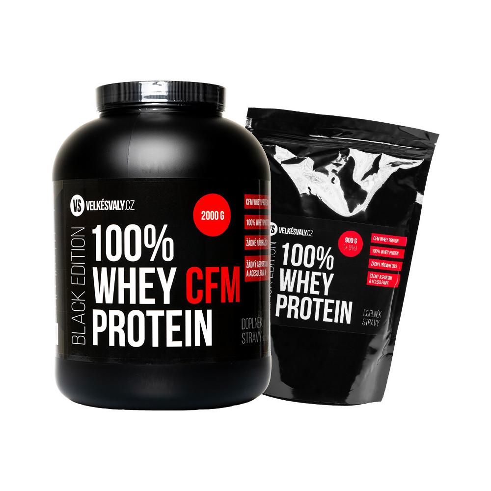100% Whey protein - CFM 2000g + 900g