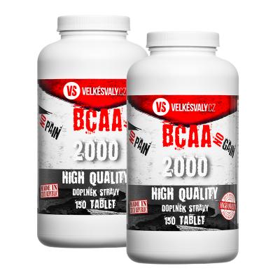 1+1 SLEVA MEGA BCAA 2000 mg
