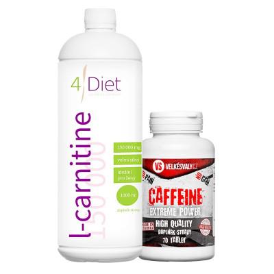 L-carnitine 150000 + caffein ZDARMA