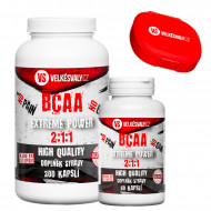 1+1 zdarma BCAA Extreme Power 200 cps + 60 cps