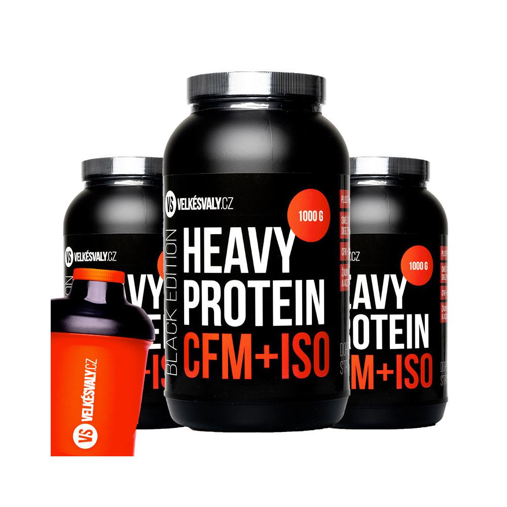 3x HEAVY PROTEIN CFM+ISO